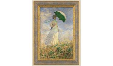 Monet, Vrouw met parasol (1886)