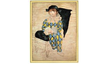 Picasso, Paul als Harlekijn (1924)