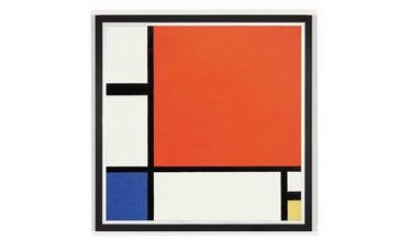 Mondriaan, Compositie in rood, blauw en geel (1930)