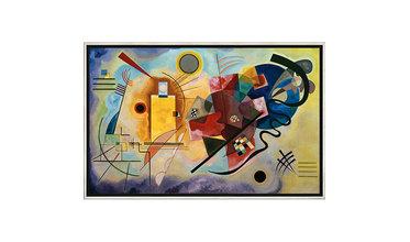 Kandinsky, Geel - Rood - Blauw (1925)