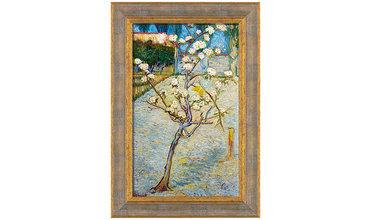 van Gogh, Perenboompje in bloem (1888)