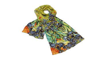 """van Gogh, zijdesjaal """"Iris"""""""