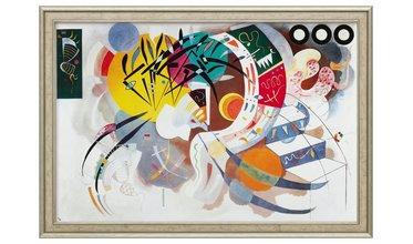 Kandinsky, Dominant Curve (1936)