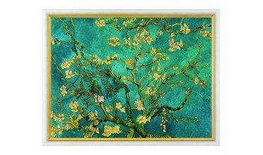 Van Gogh, Takken van een bloeiende amandelboom (1890)