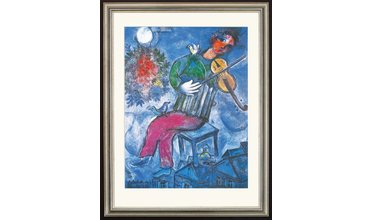 Chagall, Le Violoniste Bleu (1947)
