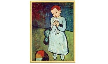 Picasso, Meisje met duif (1901)