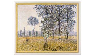Monet, Velden in de lente (1887)