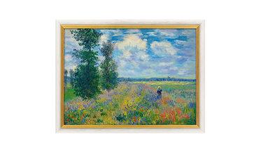 Monet, Klaprozenveld bij Argenteuil (1873)