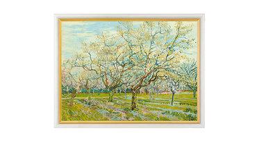 van Gogh, De witte boomgaard (1888)