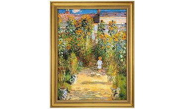 Monet, Monet's tuin in Vétheuil (1881)