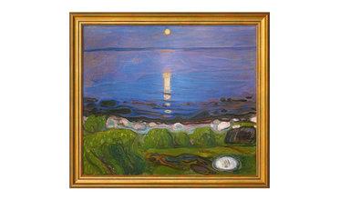 Munch, Een zomernacht op het strand