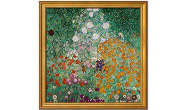 Klimt, Bloementuin