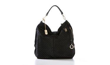 Prachtige Anna Morellini handtas - zwart