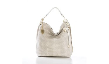 Prachtige Anna Morellini handtas - beige