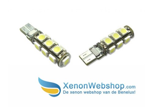 T10 13 SMD Canbus led