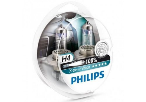 Philips XTreme Vision H4 +130% Set