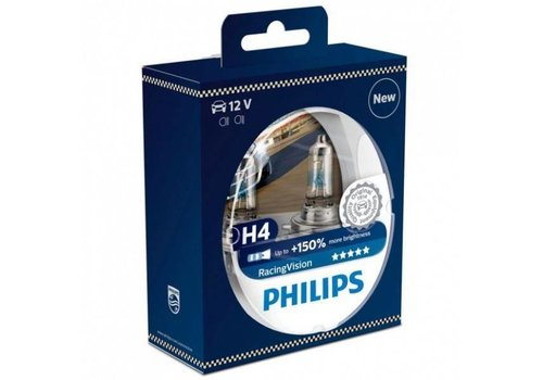 Philips Racing H4 150% Set