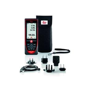 Leica Disto D810 laser afstandsmeter, 200m, 1mm, touchscreen, hellingmeter, camera, meten in de foto