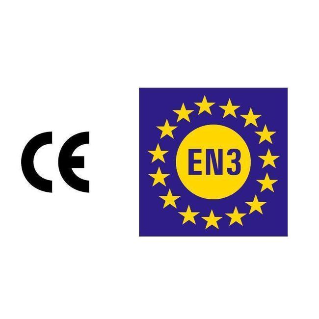 Brandbeveiligingshop Schuimbrandblusser 6l ECO/BIO met BENOR-label (AB) permanente druk