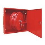 """Brandhaspelkast met automatisch zwenkbare brandhaspel 1"""" blusslang"""