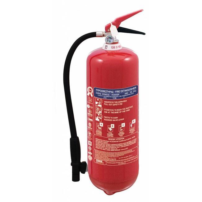 Brandbeveiligingshop Metaalbrandblusser 6kg (D) permanente druk