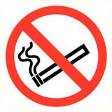 Pictogram verboden te roken