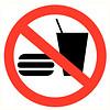 Pikt-o-Norm Pictogram verboden te eten
