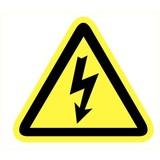 Veiligheidspictogram gevaar elektriciteit