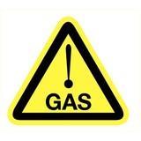 Veiligheidspictogram gevaar voor gas