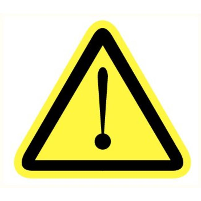 Pikt-o-Norm Veiligheidspictogram gevaar voor gevaarlijke situaties