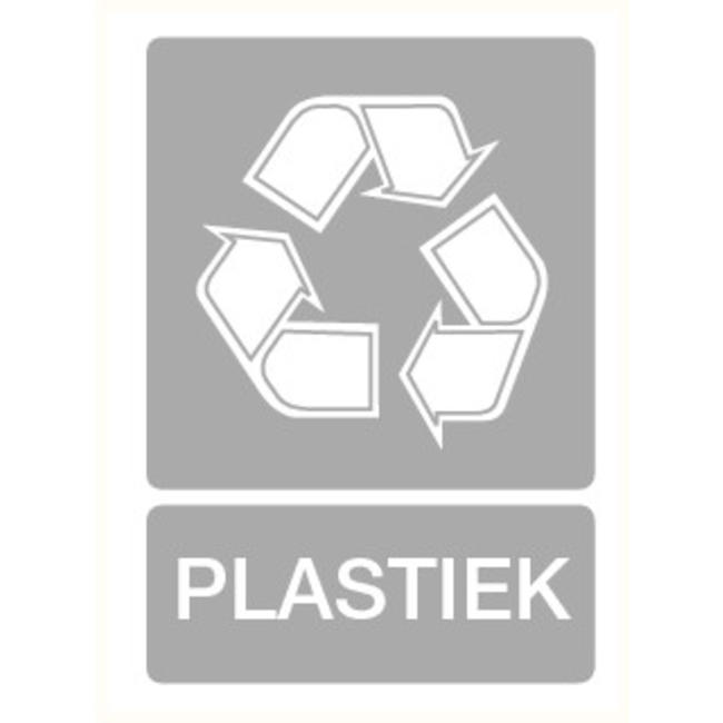 Pikt-o-Norm Pictogram recyclage plastiek