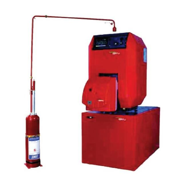 Brandbeveiligingshop Automatische poederblusser ABC 12kg