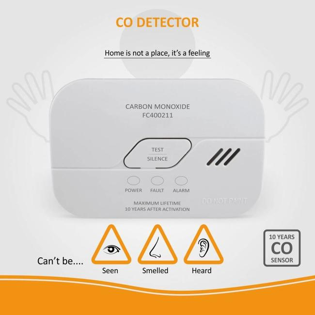 Elro Elro FC4002 CO-melder met 10-jarige sensor