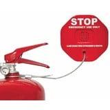 Veiligheidsalarm voor brandblussers