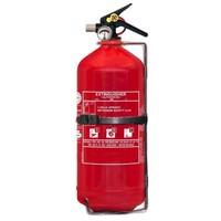 Brandbeveiligingshop Poederbrandblusser voor voertuigen 3kg met BENOR V-label (ABC) permanente druk