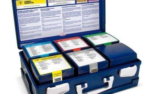 EHBO-koffers, bedrijfsverbanddozen en accessoires