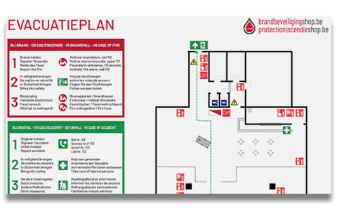 Evacuatieplannen