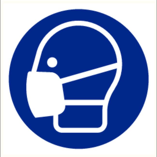 Brandbeveiligingshop Gebodsteken mondmasker verplicht