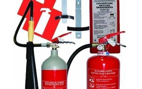 Brandblusser pakketten