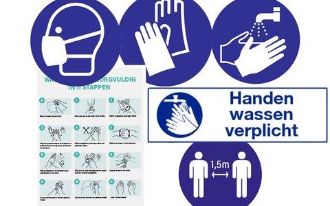 Pictogrammen veiligheid en gezondheid