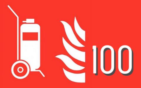 Bluswagens 100kg & 100l