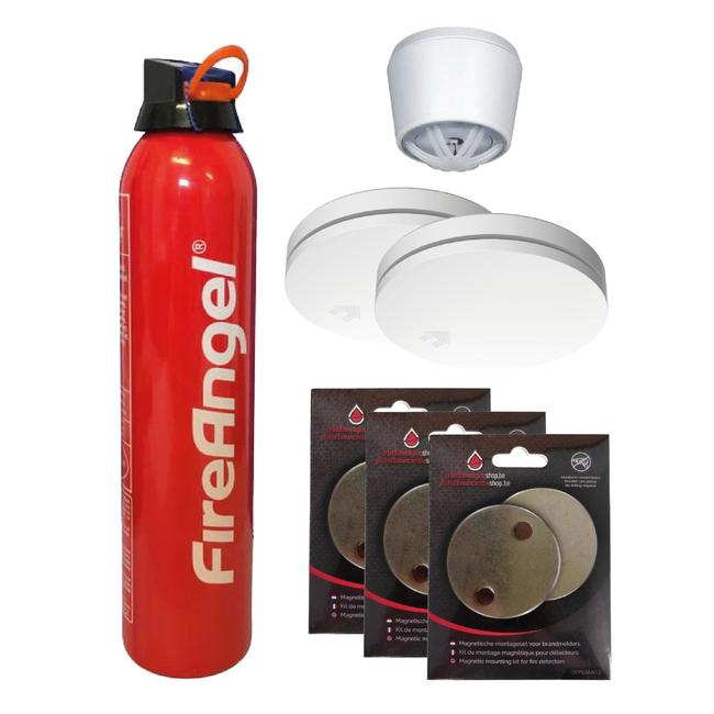 Brandbeveiligingshop Pakket Woning Essentials