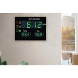 OFPG CO2-meter XL bord met temperatuur- en vochtigheidssensor