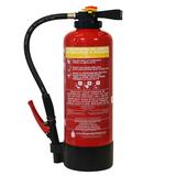 Poederbrandblusser 6kg met BENOR-label (ABC) intern drukpatroon