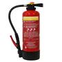 Brandbeveiligingshop Poederbrandblusser 6kg met BENOR-label (ABC) intern drukpatroon