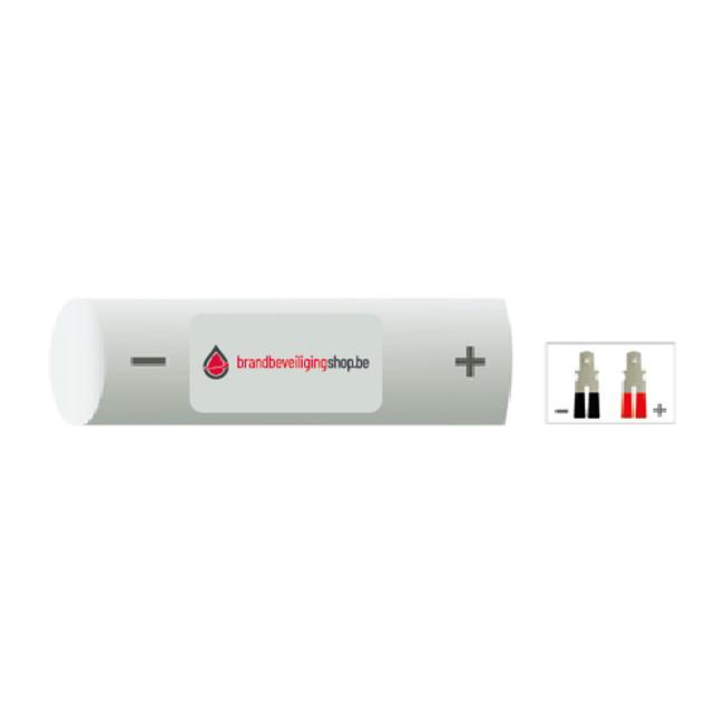 Brandbeveiligingshop NiCd 2.4V noodverlichting accu stick