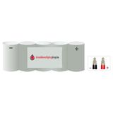 NiCd 6.0V /1500 mAh Sub C-cel noodverlichting accu block