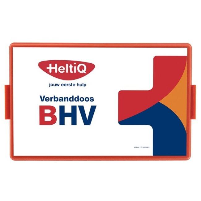 HeltiQ EHBO Bedrijfsverbanddoos B(HV) met wandhouder