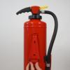 Brandbeveiligingshop Muurbeugel metaal brandblusser 6-9kg/l intern patroon