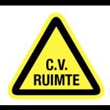 Pictogram waarschuwing C.V. Ruimte